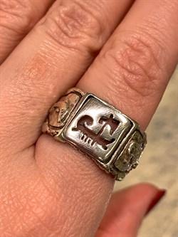 Кольцо, арт. PR1077S, Серебро 925 пробы, импортер ИП Мохин Г.В. Производство ИЗРАИЛЬ (Вес около 8,54 г.) - фото 61880