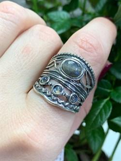 Кольцо идет на 18 размер, арт. 01R2655LB-267, Серебро 925 пробы, импортер DENO, Производство ИЗРАИЛЬ (Вес около 9,09 г.) - фото 81840