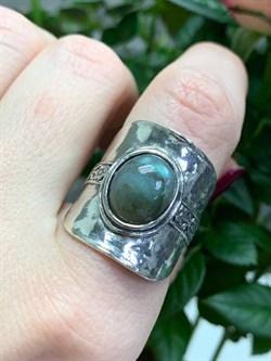 Кольцо идет на 18 размер, арт. 01R2730LB-427, Серебро 925 пробы, импортер DENO, Производство ИЗРАИЛЬ (Вес около 10,63 г.) - фото 81865