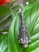 Подвеска (Кошка) арт. П 535, Серебро 925 пробы, ООО МАРКАЗИТ Производство Тайланд (вес около 5,05 г)