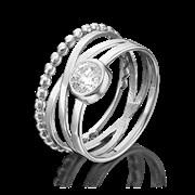 Кольцо арт. 01-5353-00-401-0200-69, Серебро 925 пробы, производитель ООО ТД Платина Кострома. Россия. (вес около 3,4 г)
