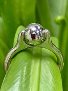 Кольцо арт. ЛС37-КРР075-14, серебро 925 пробы, Леди Самоцвет (вес около 5,08 г)