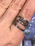 Кольцо MVR1329G, Серебро 925 пробы,маломерит на 1 размер. импортер ИП Мохин Г.В. Производство ИЗРАИЛЬ (вес около 4.4 г)