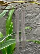 СЕРЬГИ арт. НС 22-353-3, серебро 925 пробы, производство: КРАСЦВЕТМЕТ(РОССИЯ) (вес около 10.3-10,7 г)
