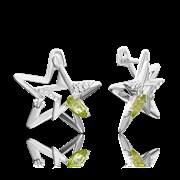 Серьги арт. 02-4723-00-205-0200-69, Серебро 925 пробы, производитель ООО ТД Платина Кострома. Россия. (вес 4,31 г)