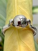 Кольцо арт. ЛС37-КРР075-14, серебро 925 пробы, Леди Самоцвет (вес около 5,1 г)