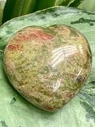Сердце из камня Яшма. арт. 63318 Импортер: ИП Ермошенков А.М. Радуга самоцветов.