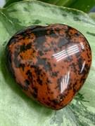 Сердце из камня Обсидиан. арт. 64862 Импортер: ИП Ермошенков А.М. Радуга самоцветов.