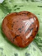 Сердце из камня Обсидиан. арт. 64868 Импортер: ИП Ермошенков А.М. Радуга самоцветов.