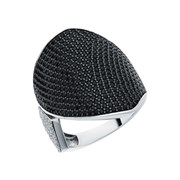 Кольцо арт. MP-R00979-X-W-X-X-BW, Серебро 925 пробы, Fresh Jewelry производство ГОНКОНГ (вес около 5,6-6,1 г)