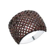 Кольцо арт. MP-R00598-X-WB-X-X-DG, Серебро 925 пробы, Fresh Jewelry производство ГОНКОНГ (вес 10,2 г)