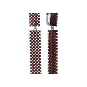 Серьги арт. CZ-E01595-X-WB-X-X-DG, Серебро 925 пробы, Fresh Jewelry производство ГОНКОНГ (вес 12,3 г)