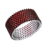 Кольцо арт. SL-R01317-X-WB-X-X-DG, Серебро 925 пробы, Fresh Jewelry производство ГОНКОНГ (вес 7,35 г)