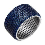 Кольцо арт. CZ-R02065-X-WB-X-X-SB, Серебро 925 пробы, Fresh Jewelry производство ГОНКОНГ (вес 10,6 г)