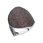 Кольцо арт. MP-R00979-X-WB-X-X-DB, Серебро 925 пробы, Fresh Jewelry производство ГОНКОНГ (вес 6,01 г)