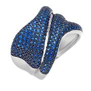 Кольцо арт. MP-R01213-X-WB-X-X-SB, Серебро 925 пробы, Fresh Jewelry производство ГОНКОНГ (вес 7,99 г)