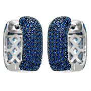 Серьги арт. MP-E00905-X-WB-X-X-SB, Серебро 925 пробы, Fresh Jewelry производство ГОНКОНГ (вес 6,06 г)
