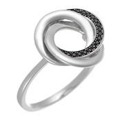 Кольцо арт. CZ-R01636-X-WB-X-X-B, Серебро 925 пробы, Fresh Jewelry производство ГОНКОНГ (вес 2,9 г)