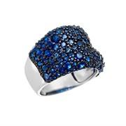 Кольцо арт. Fb-R00849-X-WB-X-X-SB, Серебро 925 пробы, Fresh Jewelry производство ГОНКОНГ (вес 8,12 г)