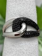 Кольцо арт. MP-R01509-X-WB-X-X-B, Серебро 925 пробы, Fresh Jewelry производство ГОНКОНГ (вес около 4,3-4,8 г)