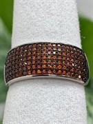 Кольцо арт. MP-R01516-X-WB-X-X-Or, Серебро 925 пробы, Fresh Jewelry производство ГОНКОНГ (вес около 3,6-4,1 г)