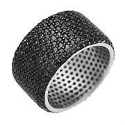 Кольцо арт. CZ-R02065-X-WB-X-X-B, Серебро 925 пробы, Fresh Jewelry производство ГОНКОНГ (вес 9,97 г)