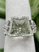 Кольцо арт. AS-R10995-X-W-S-X-W, Серебро 925 пробы, Fresh Jewelry производство (вес 4,5-4,8 г)
