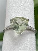 Кольцо арт. AS-R11048-X-W-S-X-W, Серебро 925 пробы, Fresh Jewelry производство (вес 2,1 г)