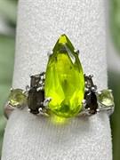 Кольцо арт. AS-R11031-X-W-P-X-Gg, Серебро 925 пробы, Fresh Jewelry производство ГОНКОНГ (вес 2,9 г)