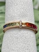 Кольцо арт. SL-R1478-3-X-G-W-X-M3, Серебро 925 пробы, Fresh Jewelry производство ГОНКОНГ (вес около 2,1-2,3 г)