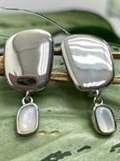Серьги арт. RB-E01927-X-W-PN-X-X, Серебро 925 пробы, Fresh Jewelry производство ГОНКОНГ (вес 4,5 г)
