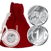 Сувенир арт. 9300409027, Серебро 925 пробы, KRASNOE Производство РОССИЯ (вес около 2,7 г)