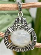 Подвеска арт. HP535(Лунный камень)-522, Серебро 925 пробы, ООО МАРКАЗИТ Производство Тайланд (вес около 5,01 г)