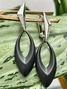 Серьги арт. TM-E01083-B-W-X-X-W, Серебро 925 пробы, Fresh Jewelry производство ГОНКОНГ (вес 6,03 г)
