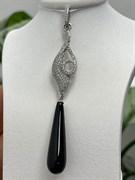 Подвеска арт. NS-P00079-X-W-B-X-W, Серебро 925 пробы, Fresh Jewelry производство ГОНКОНГ (вес 4,9 г)