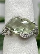 Кольцо арт. AS-R11000-X-W-S-X-W, Серебро 925 пробы, Fresh Jewelry производство (вес 3,6 г)