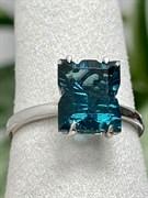Кольцо арт. SS-R01969-X-W-BL-X-X, Серебро 925 пробы, Fresh Jewelry производство ГОНКОНГ (вес 3,35 г)
