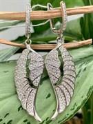 Серьги арт. MP-E00764-X-W-X-X-W, Серебро 925 пробы, Fresh Jewelry производство ГОНКОНГ (вес 10,07 г)